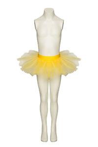 Girls Ladies White Ballet Dance Fancy Dress 3 Net Layer Tutu Skirt By Katz