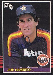Joe-Sambito-Signed-1985-Donruss-572-Astros-Pitcher-Autograph