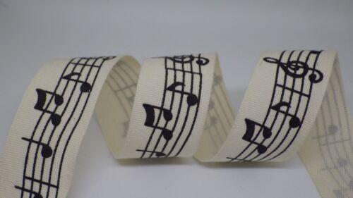 Prix Par Mètre Notes musicales Ruban 20 mm