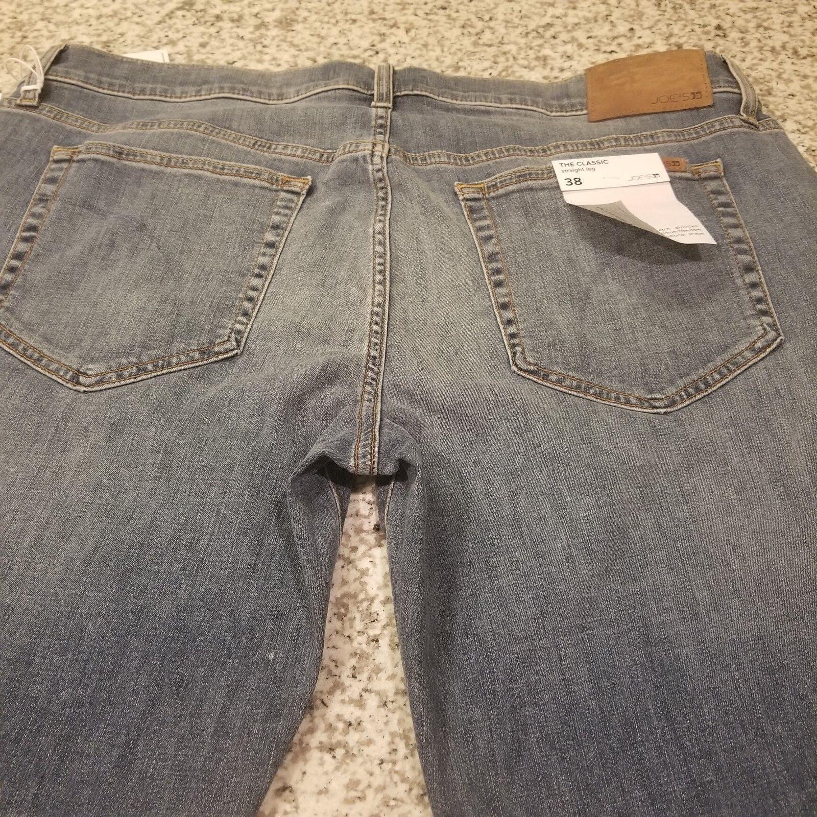 cf9e3cb9 New Men's Joe's Kinetic Jeans Denim THE CLASSIC Straght Leg bluee W36