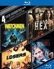 4 Film Favorites Comics Collection 4pc BLURAY