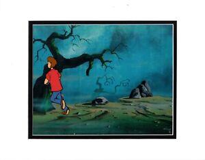 Scooby Doo SHAGGY Production Animation Art Cel Hanna Barbera 32