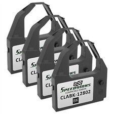 CLABK12802 Set of 2 Black Printer Ribbons LD Compatible C.Itoh CLABK-12802