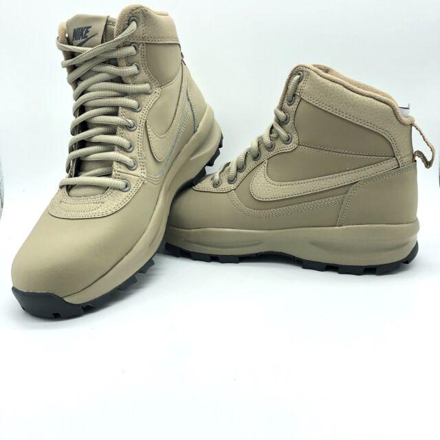 Nike Manoadome Men's Rugged Hiking Training Khaki Boots 844358-200 NWT