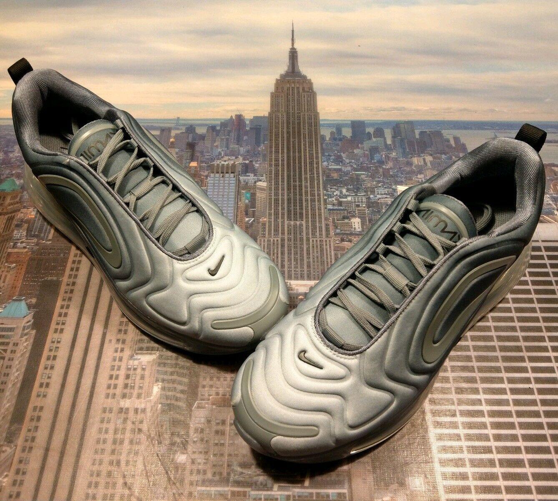 Nike Air Max 720 Cool Grey Black-Wolf Grey Womens Size 10 AR9293 004 New
