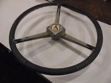 Allis Chalmers D Series Farm Tractor Steering Wheel Cracked Spokes But Solid