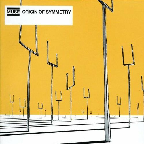 MUSE - Origin of Symmetry  with ENHANCED PART ! / UNIVERSAL RECORDS CD 2001