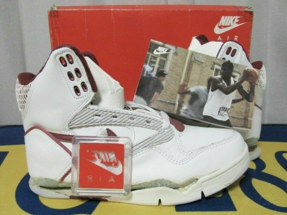NIKE AIR FORCE V 1990 Sneakers shoes White Men's SIze JP 26 Vintage