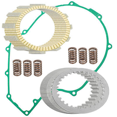 CLUTCH FRICTION PLATES and GASKET Fits KAWASAKI Concours 1000 ZG1000A 1986-2006