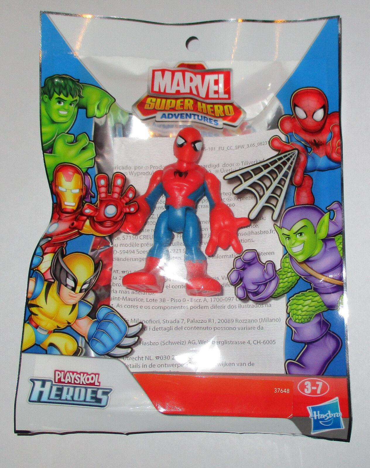 Marvel Marvel Marvel Playskool Super Héroe aventuras Mini Figura 3Pk Hombre Araña, Ironman, Hulk 9fc027