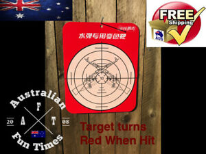 Details about Water Crystal Gun TARGET Soft Gel Ball Bullet Ammo Game  Blaster Pistol Toy Gell