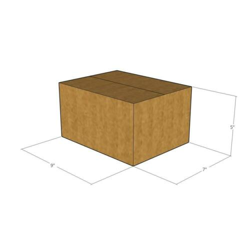 Size 9 x 7 x 5-32 ECT 15 New Corrugated Boxes