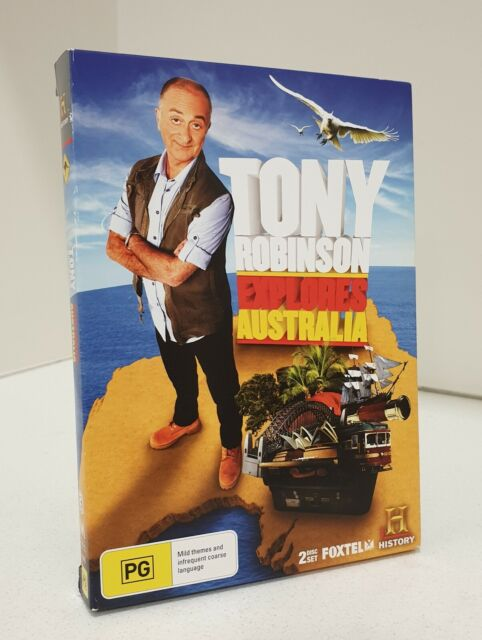 HISTORY CHANNEL Tony Robinson Explores Australia (2011) DVD 2x Disc Set Reg 4