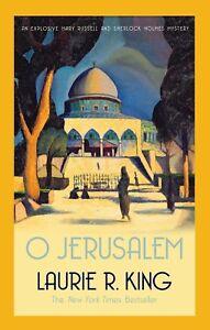 Laurie-R-King-O-Jerusalem-Tout-Neuf-Livraison-Gratuite-Ru