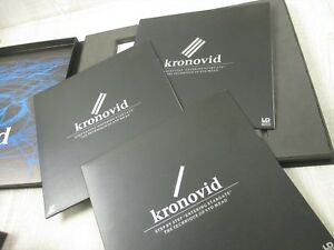 2019 Latest Design Syd Mead Laser Disc Set Kronovid Art Book Entertainment Memorabilia Animation Art & Characters With The Best Service