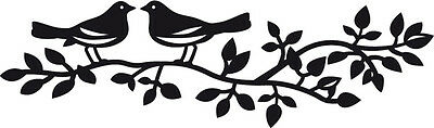 Marianne Design CRAFTABLES Die Cut & Emboss Stencil BIRDS SILHOUETTE - CR1264