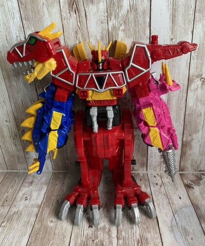 Power Rangers Complete without Chargers Deluxe Dino Charge T-Rex Megazord