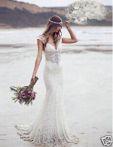 Bohemian Lace Wedding Dresses