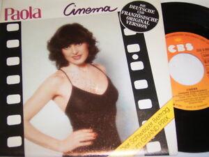 """7"""" - Paola Cinema & French Version - MINT 1980 # 4654 - Gladbeck, Deutschland - 7"""" - Paola Cinema & French Version - MINT 1980 # 4654 - Gladbeck, Deutschland"""