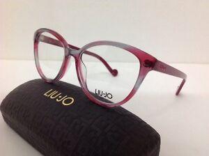 Liu-Jo-Occhiale-Da-Vista-Md-2663-Plastica-Donna-Glitter-Rosa-Grigio-Trasparente