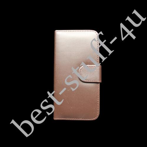 Nueva Funda para Estuche tipo Billetera con cierre magnético De Cuero adapta Samsung móvil protector de pantalla