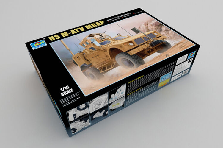 Trumpeter 1 16 00930 US M-ATV MRAP