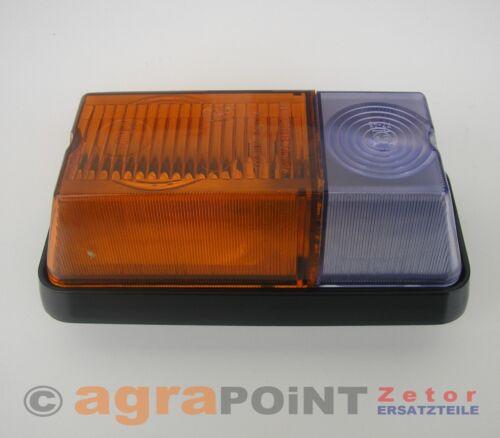 vordere Leuchte links 60115808 NEU Blinklicht by agrapoint.de Zetor