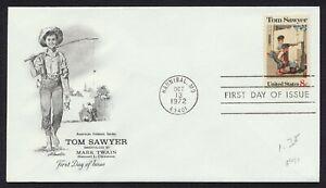 #1470 8c Tom Sawyer, Artmaster FDC Cualquier 4=