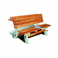 NEW HOPKINS 90110 STURDY FLIP TOP OUTDOOR BENCH PICNIC TABLE FRAME ONLY 0039834