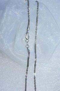 Besorgt 750 Weißgold Halskette 18 Kt Goldkette Damen 40,5 Cm Neu Traumhaft Schön
