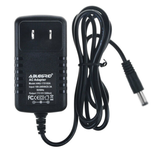 9V 2A AC Adapter for iHome iP46 Rechargeable Speaker Charger Power Supply PSU