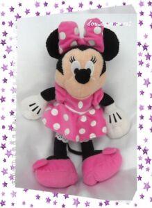 Impartial Doudou Peluche Minnie Club House Robe Rose Pois Blanc Nicotoy Disney 33 Cm Produits De Qualité Selon La Qualité