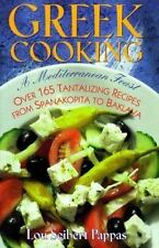 Greek Cooking: A Mediterranean Feast over 165 Tantalizing Recipes from-ExLibrary