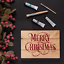 Merry-Christmas-Stencil-Durable-amp-Reusable-Mylar-Stencils thumbnail 4