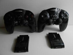 2x wireless Controller inkl. Empfänger für Playstation 2 / PS2