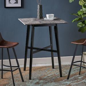 Daisy-Modern-Resin-Square-Bar-Table