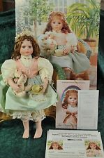 """Porcelain Doll - Hand Crafted; The Hamilton Collection """"Chloe"""" By Morena Ciambra"""
