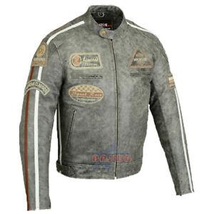 Caricamento dell immagine in corso Giacca-in-pelle-uomo -da-motociclista-clubjacke-MOTO- 1e3fd119b40