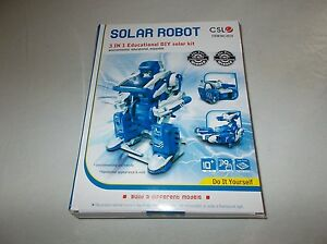 Quality do it yourself 3 in 1 CSL 2019 Solar Robot educational model kit