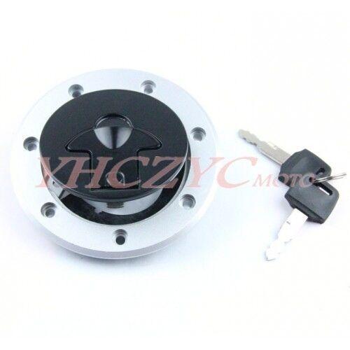Fuel Gas Tank Cap Cover Keys for Kawasaki KLE250 Anhelo 93-01 KLE400KLE500 91-07