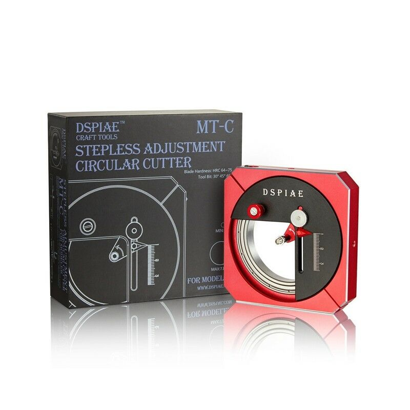 DSPIAE MT-C Stepless Adjustment Circular Cutter - Toolbox Accessory Craft Tools