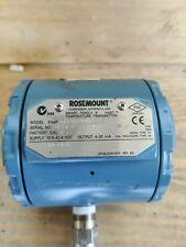 Rosemount 3144p D1a1naxa Smart Family Hart Temperature Transmitter Used 0 50 C