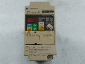 Used OMRON Inverter 3G3JV-AB004 0.55KW 220V tested