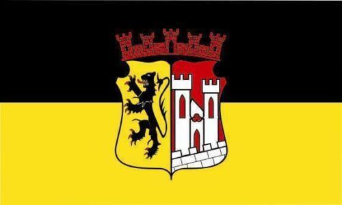 Fahne Flagge Jülich 40 x 60 cm Bootsflagge Premiumqualität