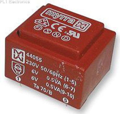 TRANSFORMER 1.5VA 6V 44085 MYRRA