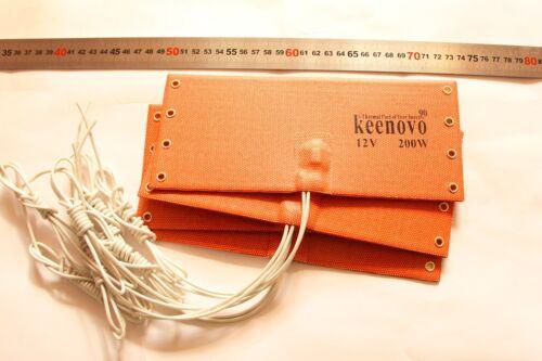 12V 200W KEENOVO WVO Diesel Fuel Filter Heater NOS Bottle Heater w// T-stat 90C
