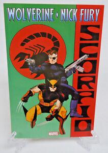 Wolverine-amp-Nick-Fury-Scorpio-Rising-Marvel-Comics-TPB-Trade-Paperback-New