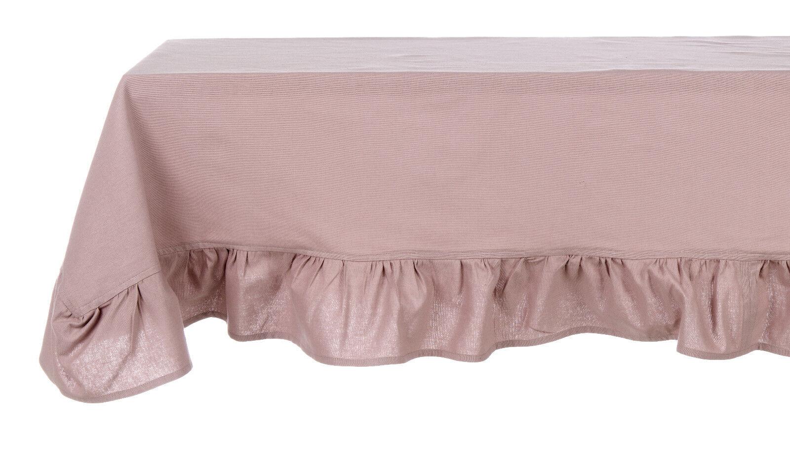Tischläufer Läufer Tischdecke Rosen rosa Shabby Landhaus Blanc Mariclo