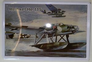 Weltkrieg  20x30 cm gross gewölbt Blechschild 2