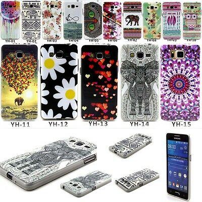 Rubber Silicone Cover Print Phone Back Case For Samsung Galaxy Grand Prime G530